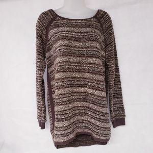 Relativity Brown Tunic Sweater